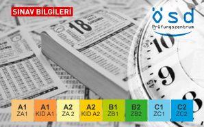 Sınav Takvimi